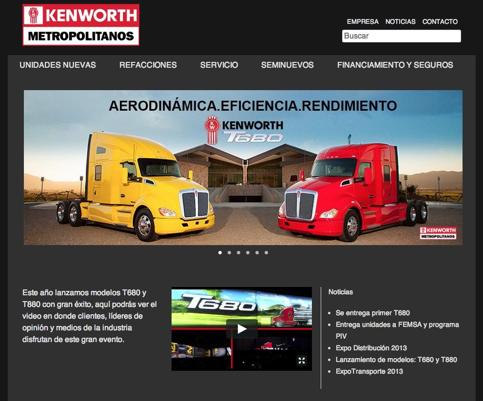 Tutoriales para Kenworth Metropolitanos