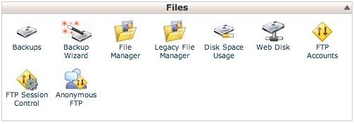 Crear una cuenta de FTP